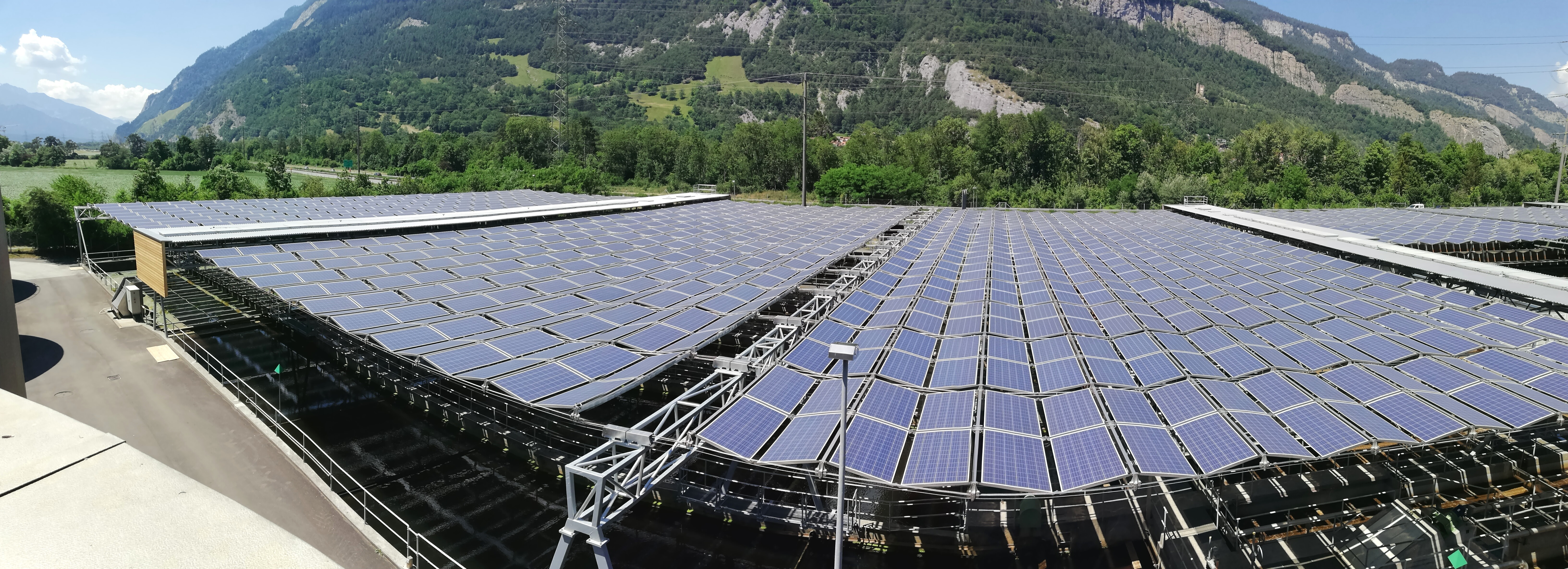 Einweihung Solar-Faltdachanlage Chur