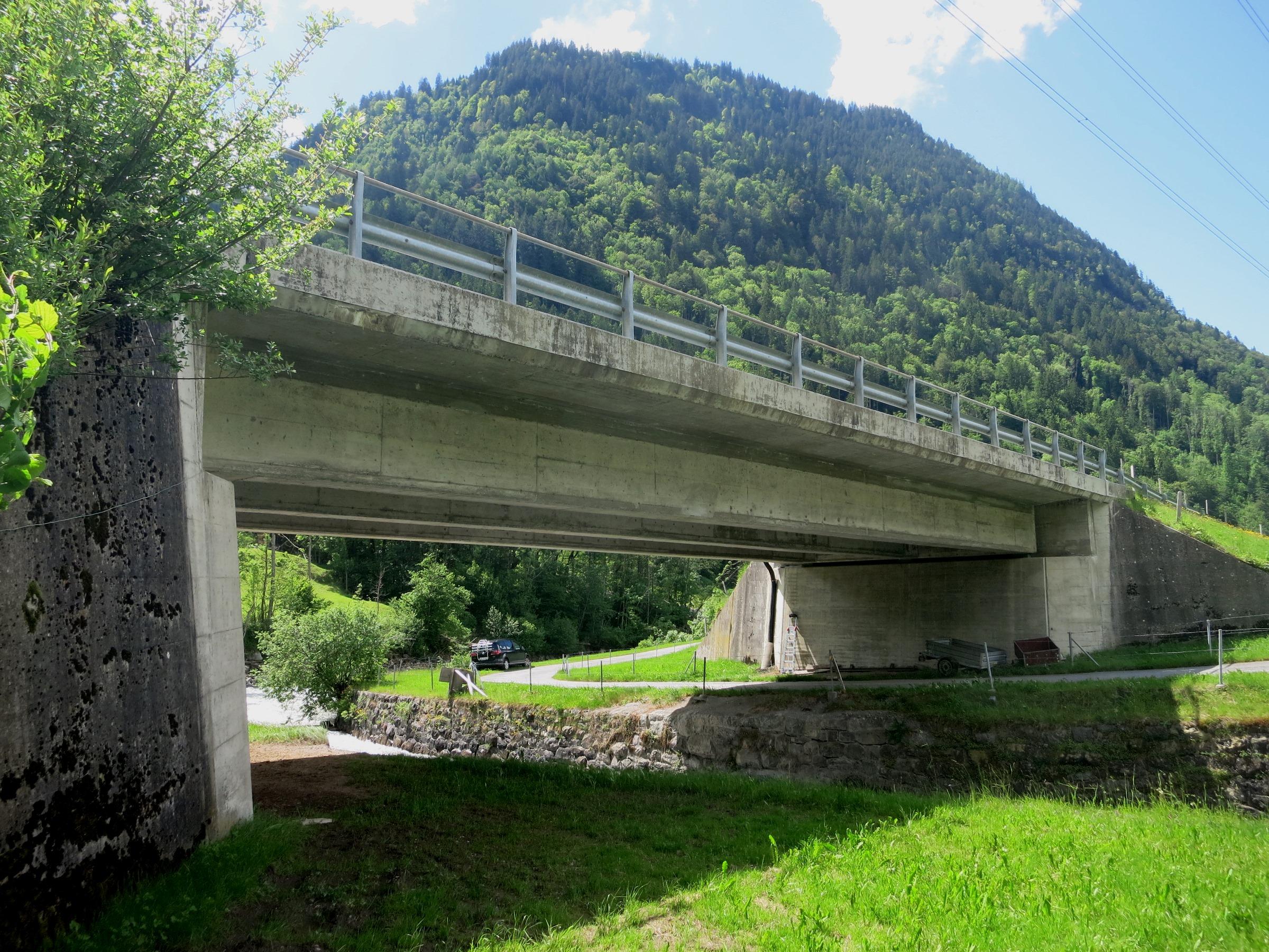 Sanierung Krauchbachbrücke